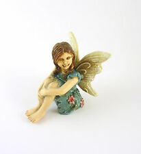 Closeout! Dollhouse Miniature Garden Fairy Girl Charlotte, Sitting, #13