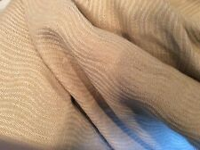GOLD OLIVE BEIGE WOVEN WAVEY STRIPE  UPHOLSTERY FABRIC