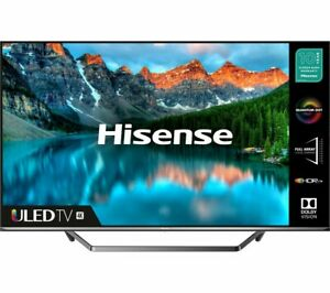 "Hisense 65"" SMART 4K Ultra 65u7qftuk HDR QLED TV dolby vision atmos"