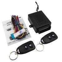 Car Central Door Locking Kit Vehicle Keyless Entry System Universal Remote 2 EI