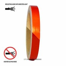 "1 Roll Red 1/2"" x 30 feet Reflective Engineering Grade Tape Pinstripe"