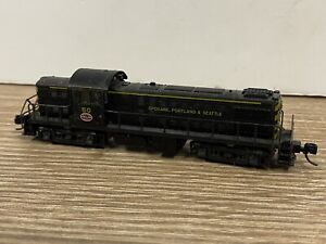 "T2037__ KATO N 1:160 - LOCOMOTIVE "" 50"" SPOKANE PORTLAND & SEATLE"