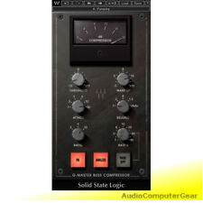 Waves SSL G-MASTER Buss Compressor 4000 Audio Software Plug-in NEW