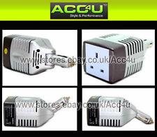 Alquiler De Van 12v Socket Para 240v Red enchufe 80w Mini Voltaje Inversor Adaptador De Corriente