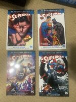 Superman Rebirth Graphic Novel Lot Vol 1-4 TPB