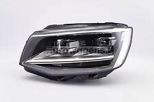 VW Transporter T6 16-18 Black Full LED Headlight Headlamp Passenger OEM Valeo