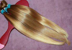HUMAN HAIR HAIRCUT 13.5IN 2.2oz ULTRA BABYFINE CHILDS BLONDE BLENDS PONYTAIL B75