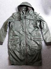 Calvin Klein Jeans-green waterproof hooded coat/parka.S/M.BNWT.RRP 349 Euro.