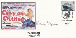 Carry on Cruising Signed by Virginia McKenna  Actress Films & TV   FDC