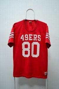 VTG San Francisco 49ers Jerry Rice Football Jersey Men's Large L Rawlings NFL