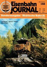 Carl Asmus - Eisenbahn Journal. I / 88. Sonderausgabe - Rhätische Bahn (I). Lan