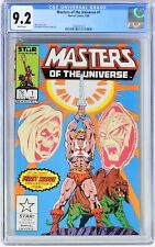 E195. MASTERS OF THE UNIVERSE #1 by Marvel CGC 9.2 NM- (1986) PREMIERE ISSUE