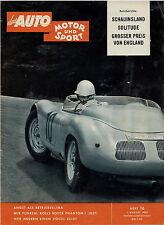 Auto Motor Sport 16 59 1959 Sunbeam Alpine VW Käfer Beutler Austin A 99 Phantom