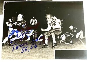 John David Crow Texas A&M Signed Inscribed 1957 Heisman 5x8 Photo TRISTAR 2000