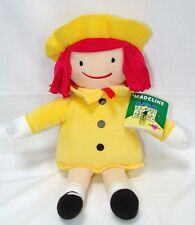 "Kohl's Cares Madeline Plush Cloth Doll 14"" Tall New Yellow Coat 2016 Design New"