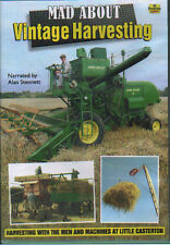 Combine Harvester Farming DVD: MAD ABOUT VINTAGE HARVESTING