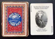 c.1900 Yukon Railroad Souvenir Playing Cards 52 View Klondike Goldrush AMERICANA