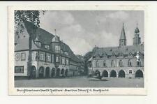 AK - Goslar - Place du marché avec Hôtel de ville