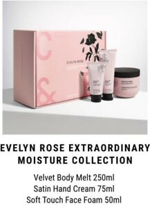 CRABTREE & EVELYN ROSE EXTRAORDINARY MOISTURE COLLECTION Gift set