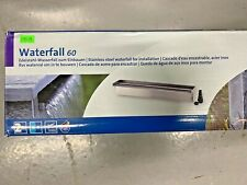 More details for new! oase pond waterfall 60 water blade feature stainless steel