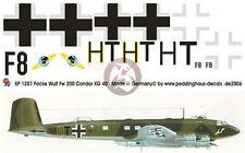 Peddinghaus 1/48 Focke-Wulf Fw 200 C-8 Condor Markings III./KG 40 Kemi 1944 1207
