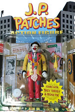 J.P. PATCHES CLOWN Vintage ACTION FIGURE 2003 ACCOUTREMENTS NOS New In Package