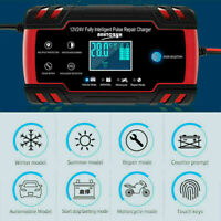 Car Jump Starter Emergency 12V/24V Power Bank Battery Charger LCD with Disp N1A8