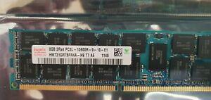 PC3L-10600R 36 x 8GB = 288GB HYNIX 2Rx4 Registered Server RAM