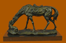 Bronze Sculpture Horse Playing with Dog Hot Cast Lost Wax Method Figurine Deal