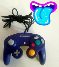 🕹️ Nintendo Gamecube Purple Indigo OEM Official DOL-003 Tested! Works! L👀K⬇️⬇️