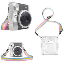 For Fujifilm Instax Mini 90 Neo Classic Instant Film Camera Clear Hard Pvc Case