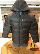 Cabelas Goose Down Men's M Parka Jacket Hooded NEW Puffer NWT Brown 650