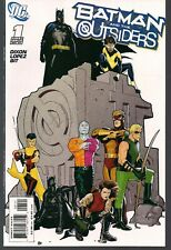 BATMAN AND THE OUTSIDERS #1 DC 2007 RYAN SOOK LIMITED INCENTIVE VARIANT CVR NM-