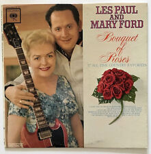 LES PAUL AND MARY FORD BOUQUET OF ROSES 1962 1ST PRESSING MONO VINYL LP