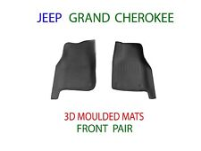 To suit Jeep Grand Cherokee WK 2011-2018 3D Front Rubber Floor Mats