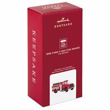 New Listing2020 Hallmark Fire Brigade 1996 Ford F-800 Fire Engine Free Shipping !