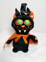 Dan Dee Collectors Choice - Halloween Dancing & Singing Plush Black Cat *TESTED*