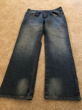 Company 81 Men's Dark Blue Denim Spencer Relaxed Fit Jeans 30 X 29 1/2
