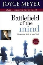Battlefield of the Mind Winning the Battle in Your Mind Paperback by Joyce Meyer