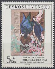 Specimen, Czechoslovakia Sc2441 The Complaint of the Birds, Emil Filla
