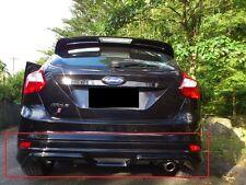 Ford Focus 3 MK3 ST Heckschürze/Querbehang Zetec Look NEU hinten Diffusor