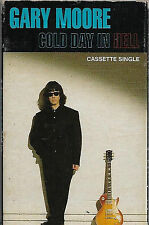 GARY MOORE A COLD DAY IN HELL CASSETTE  single Blues Rock Virgin VSC 1393
