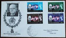 British Honduras – 1966 Churchill Set on FDC (Se9)