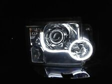 Flexible Barra Liviano Bicolor DRL Luces LED Xenon Blanco para Todos Coches 12v