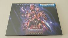 Avengers Endgame - Coffret Blu ray 4K Ultra HD + Comic Book + Litho NEUF Blister