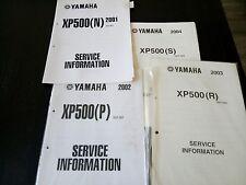 Yamaha XP 500 XP500 2001-2004 Service Information Manual Wartungsanleitung