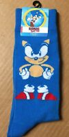 High Point Design Sonic The Hedgehog Socks Size 6-12 Men's Crew New Tags AR198