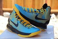 Nike KD V 5 Kevin Durant N7 Dark Turquoise/Blue-Black-Varsity Maize (599294-447)