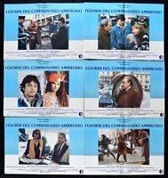 Fotobusta I Giorni De Commissioner Ambrosio Tognazzi Amendola Corbucci R13