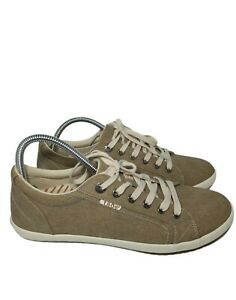 Taos Star Canvas Shoes Taupe Women's Size 11